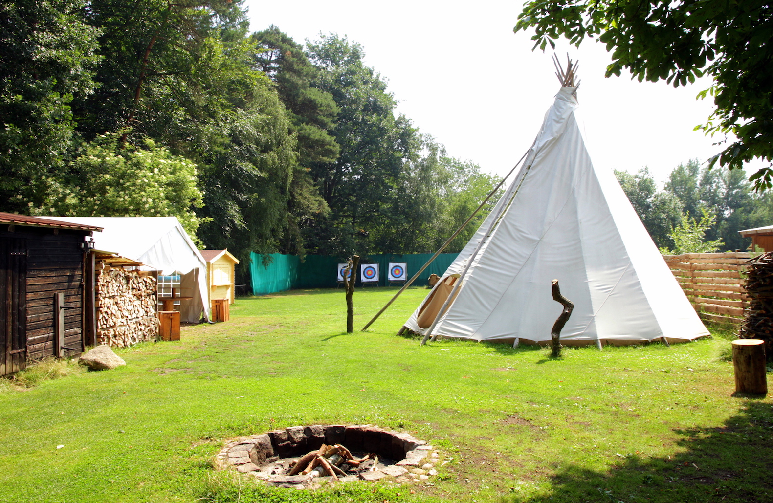 Eventlocation Hamburg Sachsenwald Tipi