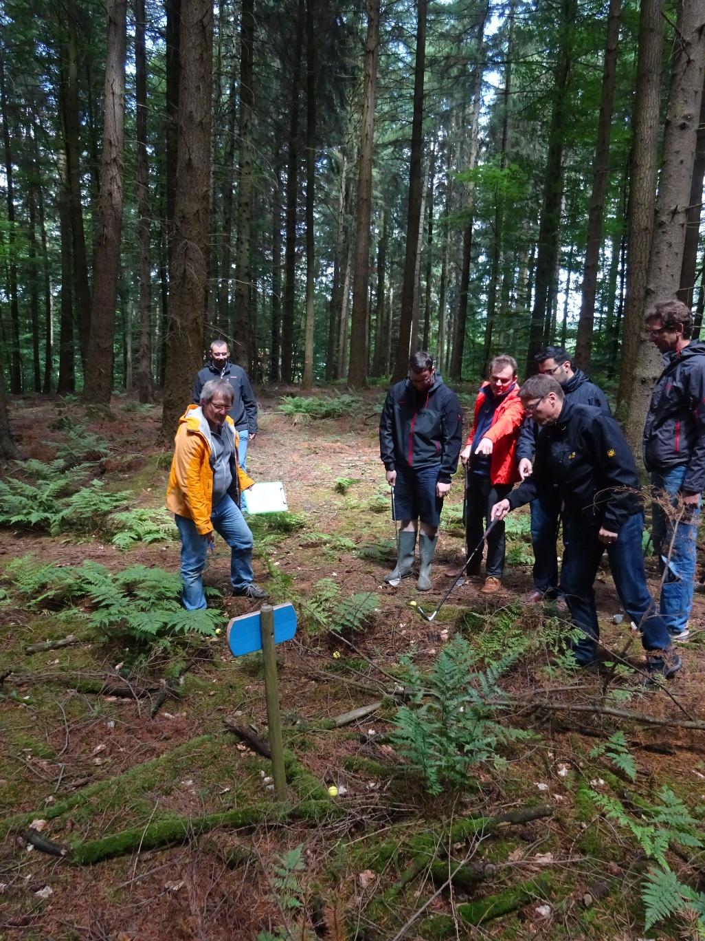 Crossgolf Kletterpark Teambuilding Firmenevent
