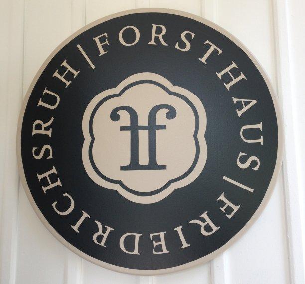 Das Logo des Forsthaus Friedrichsruh