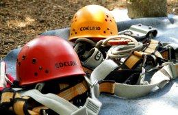 Sicherheit im schnurstracks Kletterpark