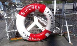 Museumsschiff im Hamburger Hafen