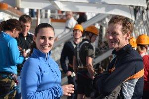 Jobs als Klettertrainer RickmerRickmers im Hamburger Hafen