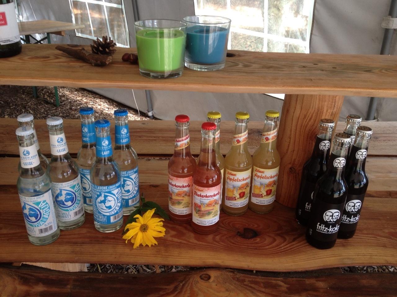 Getränke Erfrischungen Kletterpark Sachsenwald